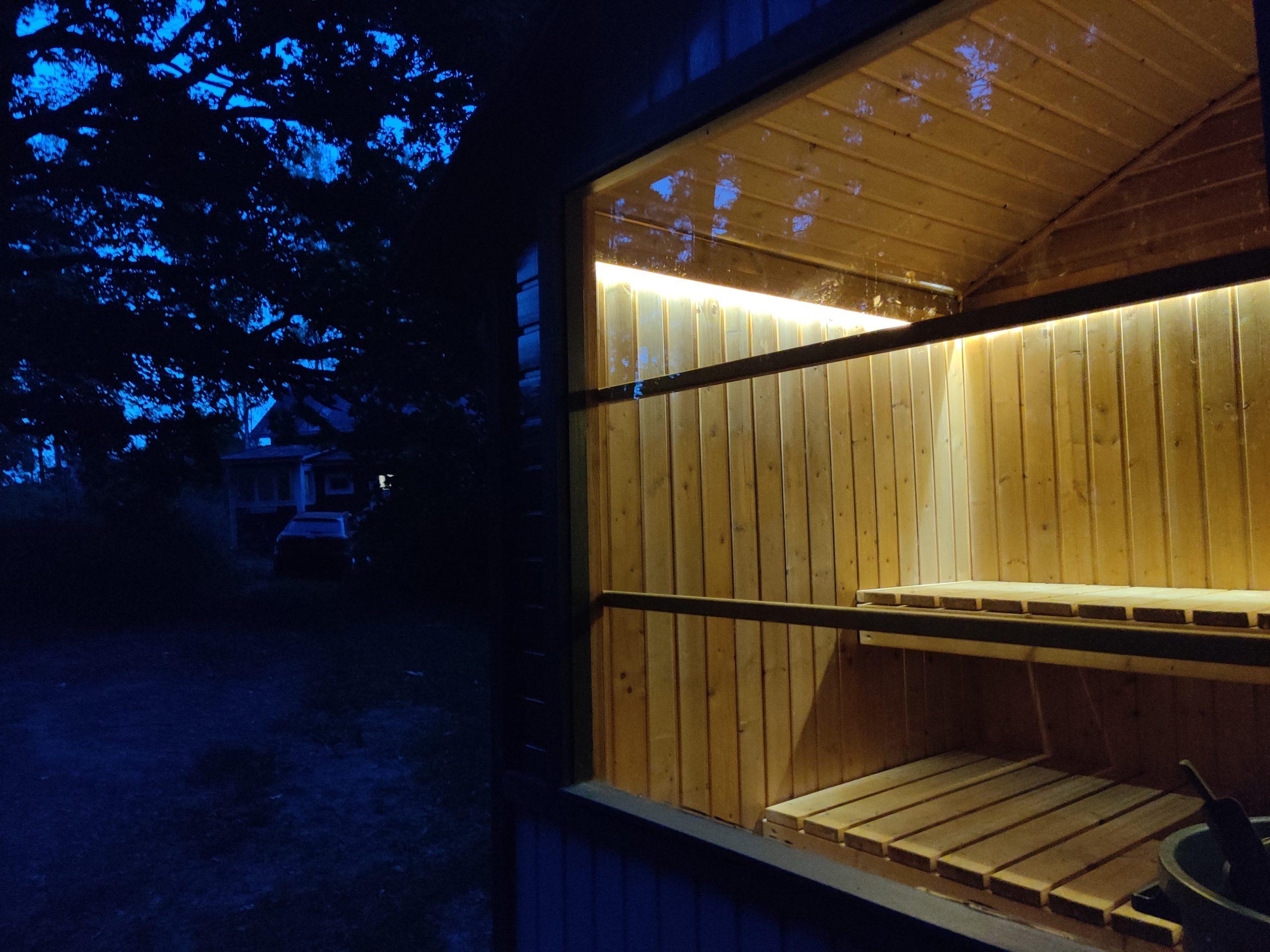 Sauna Paljukärry